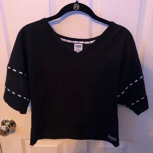 black tee from Pink